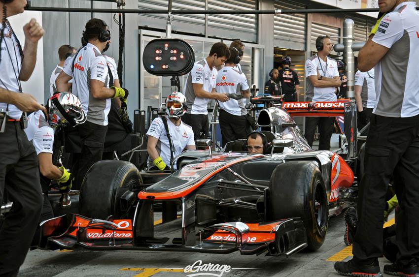 eGarage 2012 Italian Grand Prix McLaren Vodafone