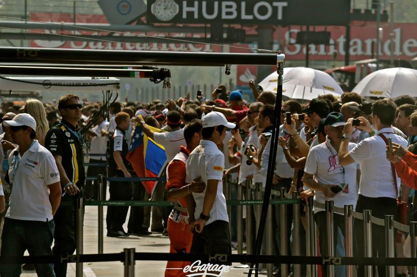 eGarage 2012 Italian Grand Prix Monza Spectators