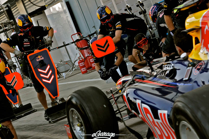 eGarage 2012 Italian Grand Prix Red Bull Pit Stop