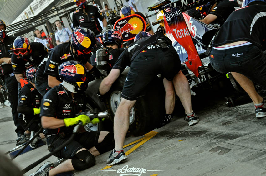 eGarage 2012 Italian Grand Prix Red Bull Pit Crew