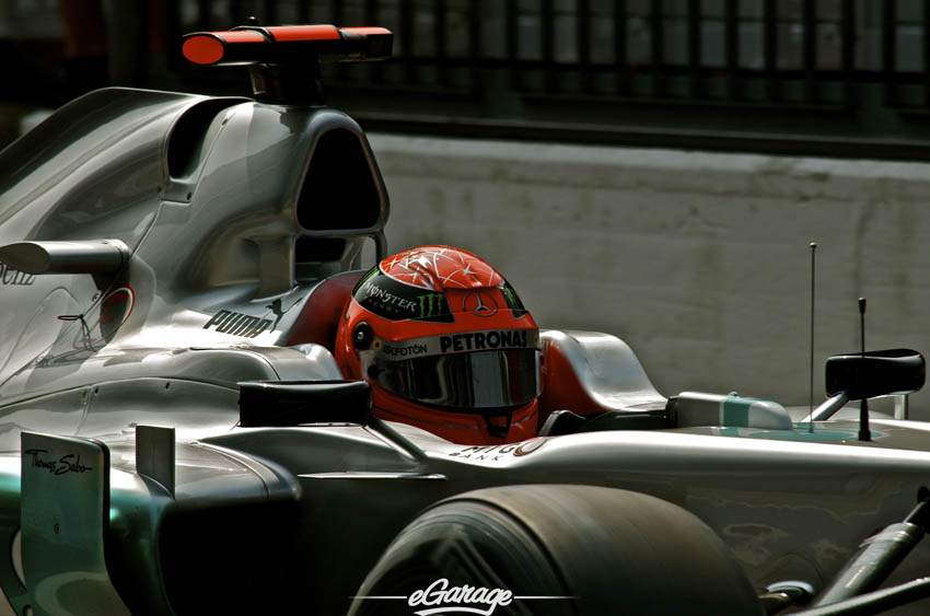 eGarage 2012 Italian Grand Prix Petronas Monster Helmet
