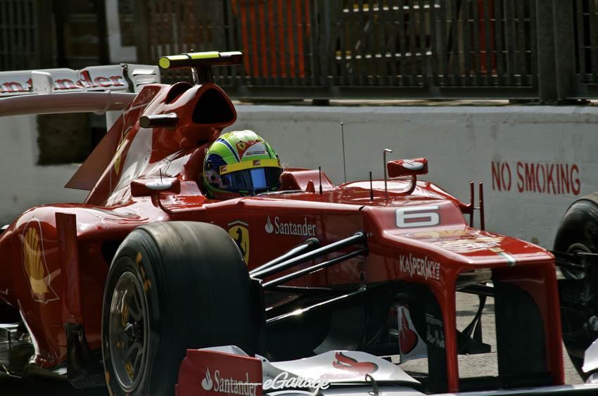 eGarage 2012 Italian Grand Prix Ferrari No Smoking