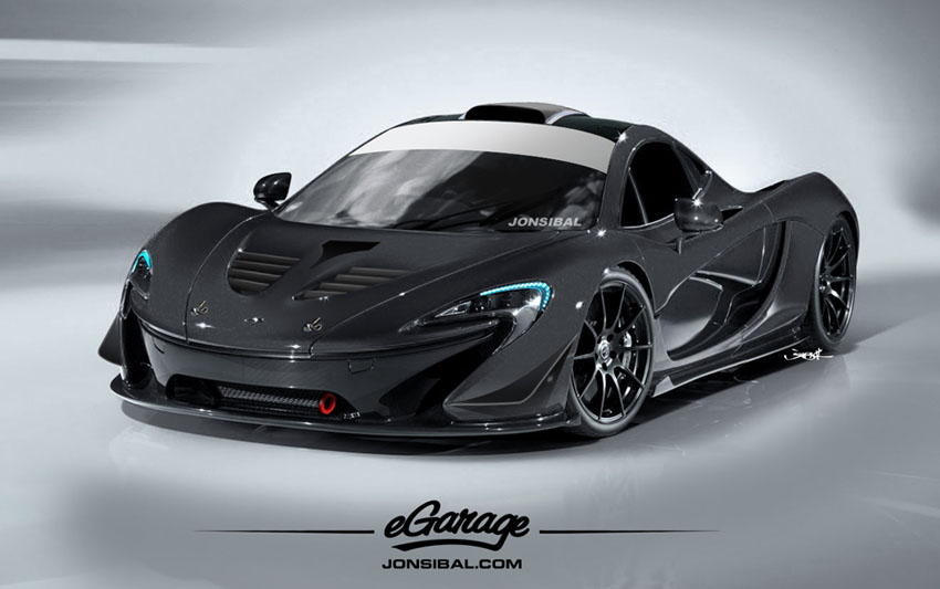 P1eG 1 Mclaren P1 Revealed at Paris