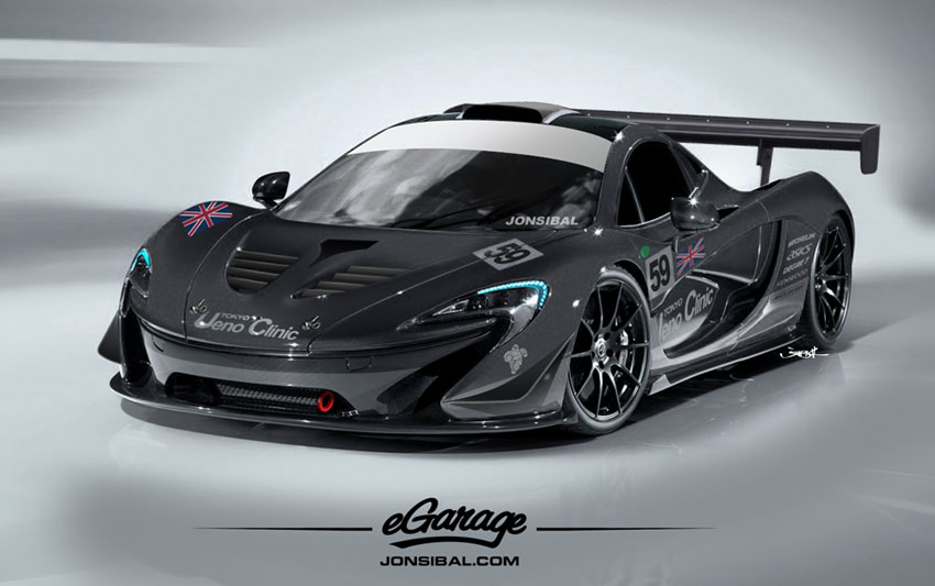 P1eG 3 Mclaren P1 Revealed at Paris