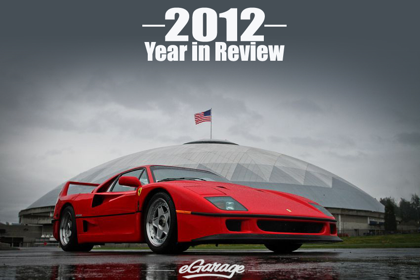 2012B1 eGarage 2012 Year in Review