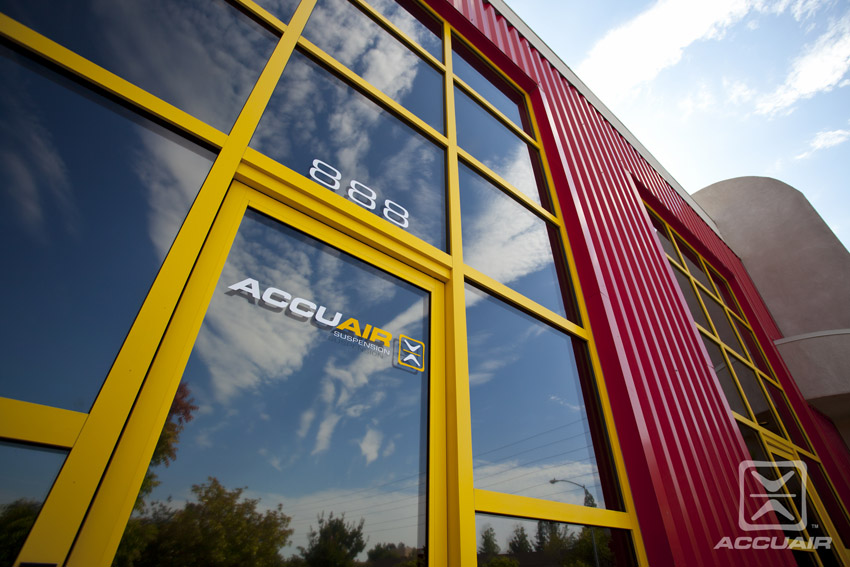 AccuAir Corporate HQ front door