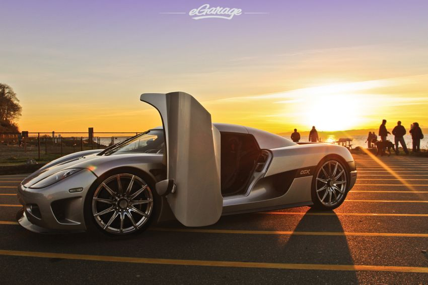Koenigsegg eGarage The Sun Sets on a Supercar: Koenigsegg CCX