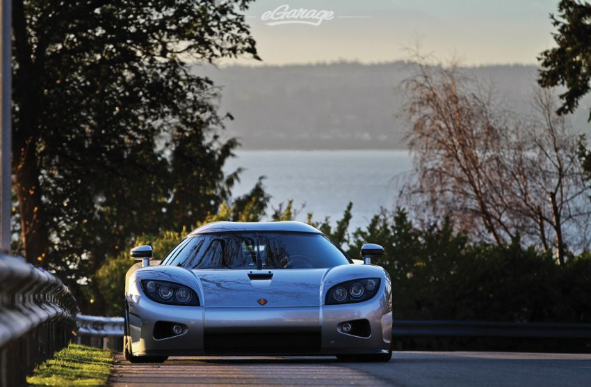 Koenigsegg front The Sun Sets on a Supercar: Koenigsegg CCX