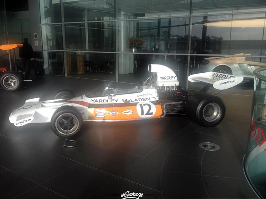 McLaren M20 parked