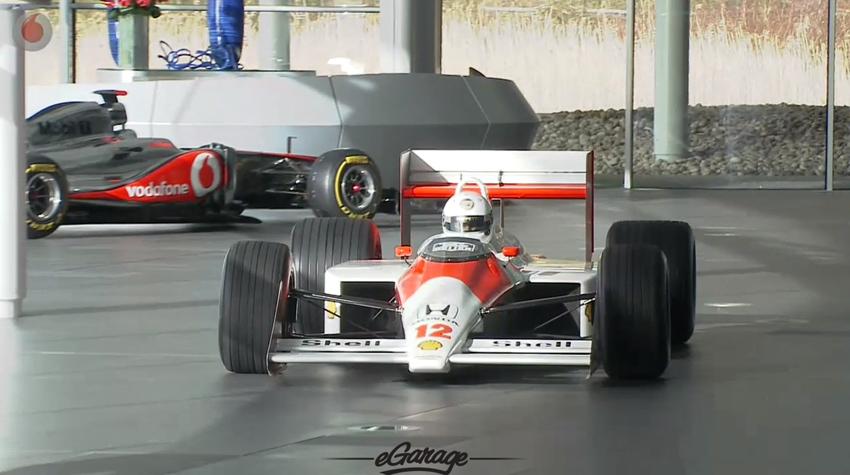 McLaren M20 driving