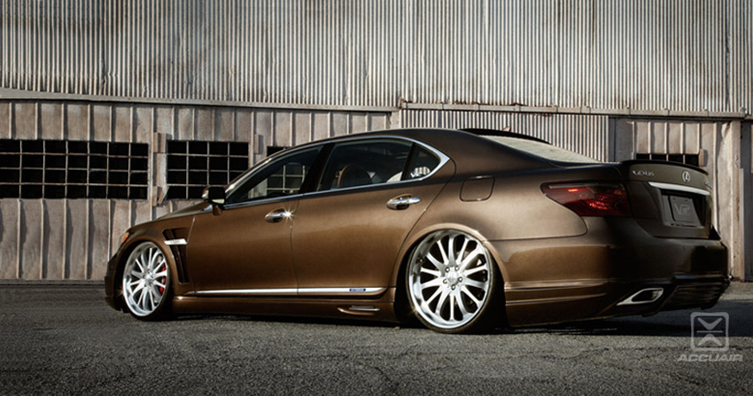 SEMA Lexus LS AccuAir