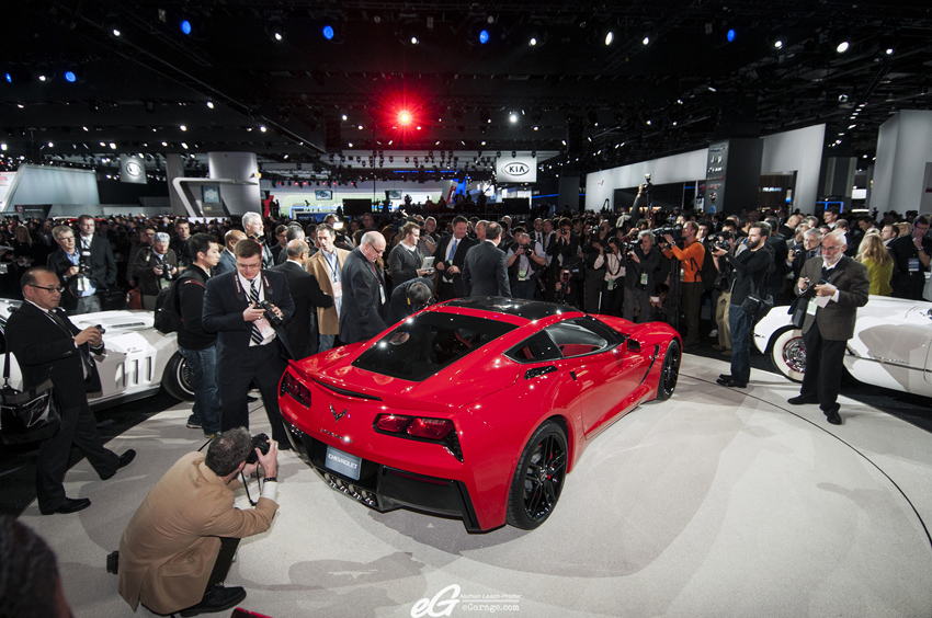 2014 Chevrolet Corvette Stringray Unveiling NAIAS 2013