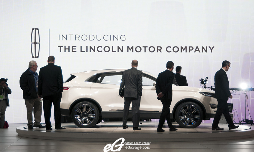 Lincoln Suits NAIAS 2013