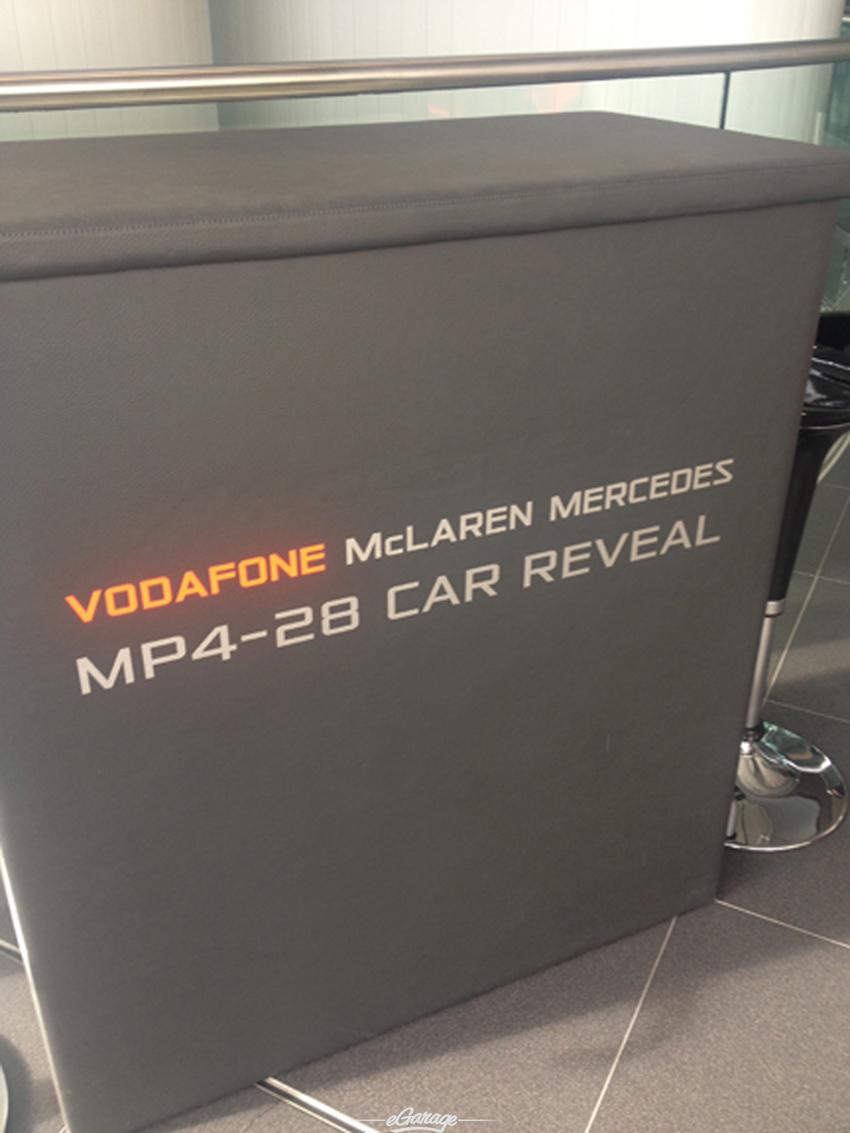 welcome McLaren MP4 28 Reveal