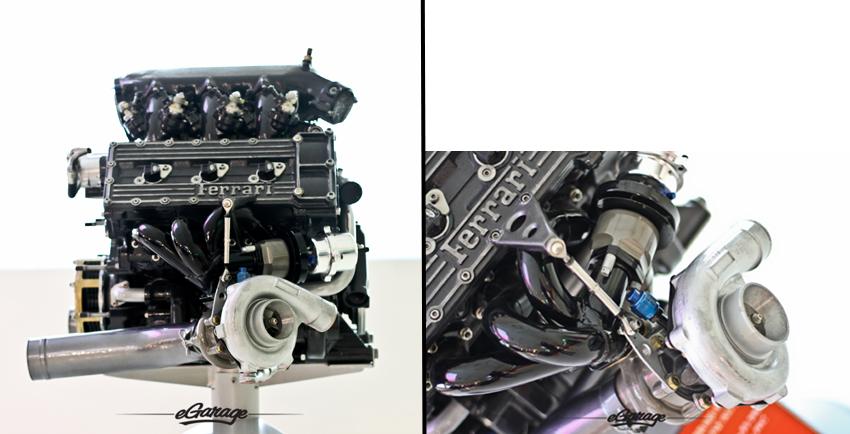 1987 Ferrari F1 Engine 033