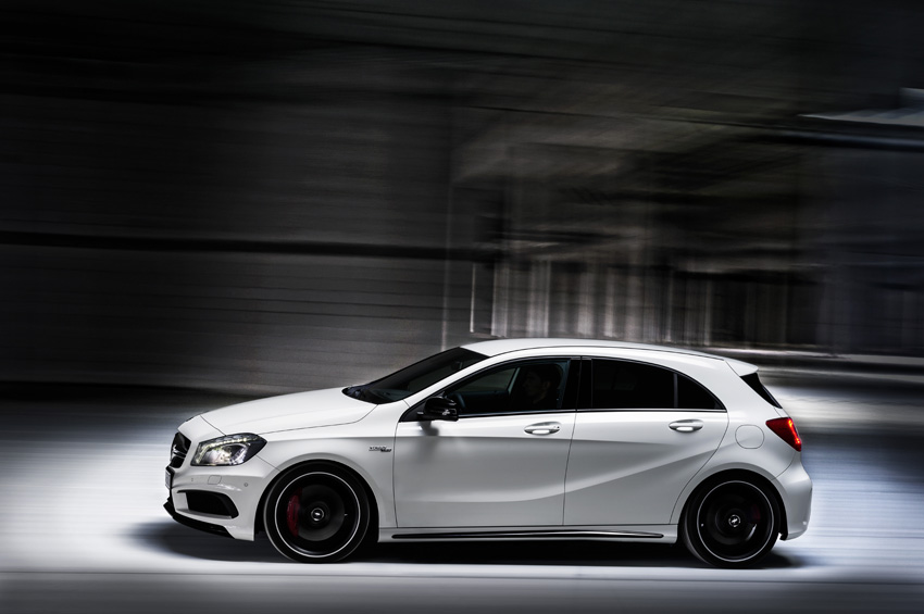 Mercedes benz a45 amg for Mercedes benz gas chambers