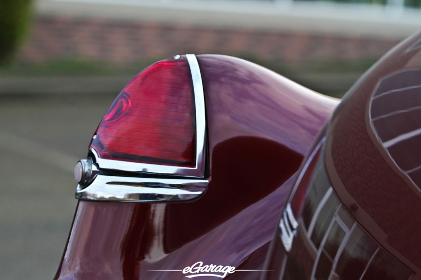 49 Cadillac tail light