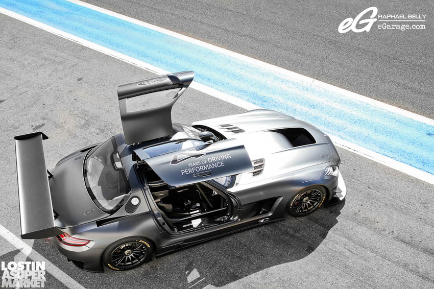SLS AMG Paul Ricard Black Limited