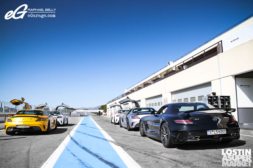 SLS AMG Paul Ricard Group