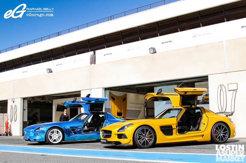 SLS AMG Paul Ricard Black and Blue