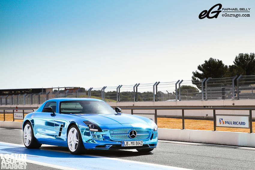SLS AMG Paul Ricard6 Mercedes Benz SLS AMG at Paul Ricard