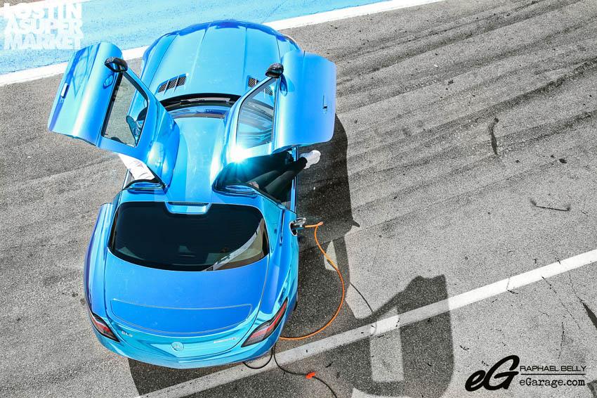 SLS AMG Paul Ricard E-Cell