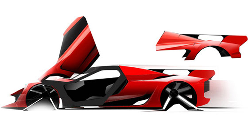 LaFerrari Styling Design
