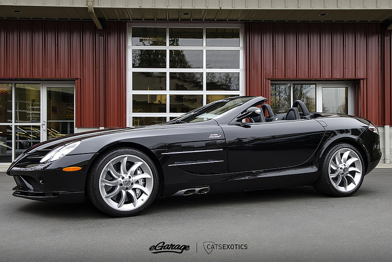 Cats Exotics Mercedes SLR Roadster