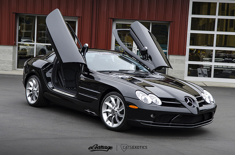 Cats Exotics Mercedes SLR Coupe