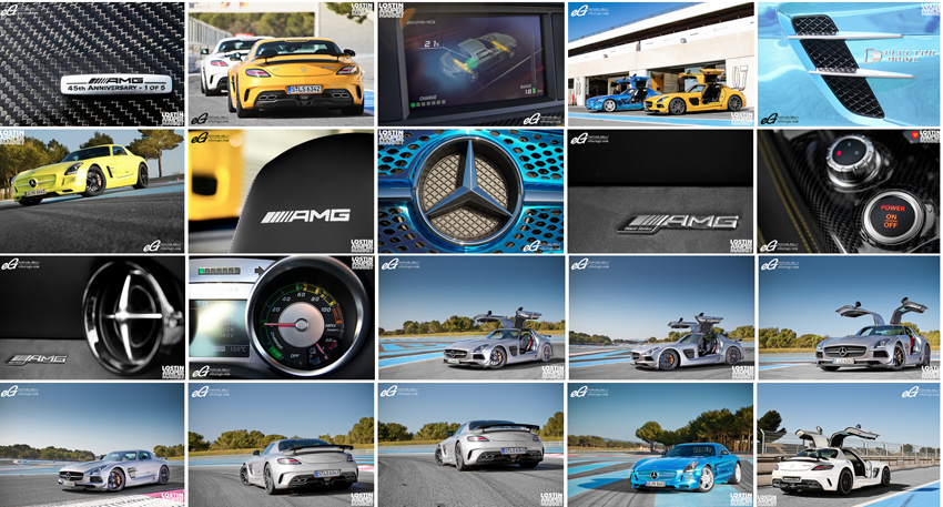Mercedes-Benz SLS AMG Photo Album