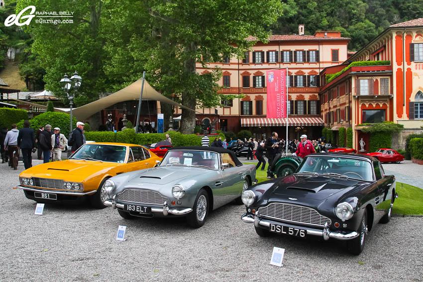 2013 Villa d'Este Aston Martin