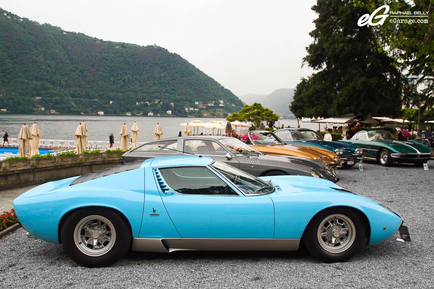 2013 Villa d'Este Lamborghini Miura