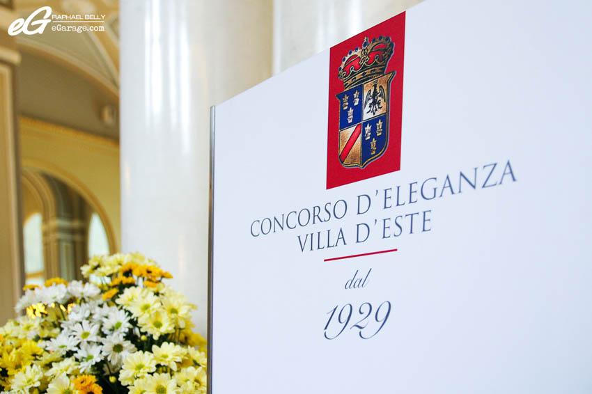 2013 Villa d'Este Sign