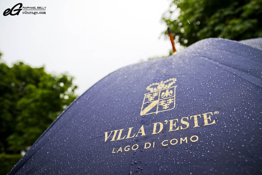 Villa d'Este Rain Umbrella