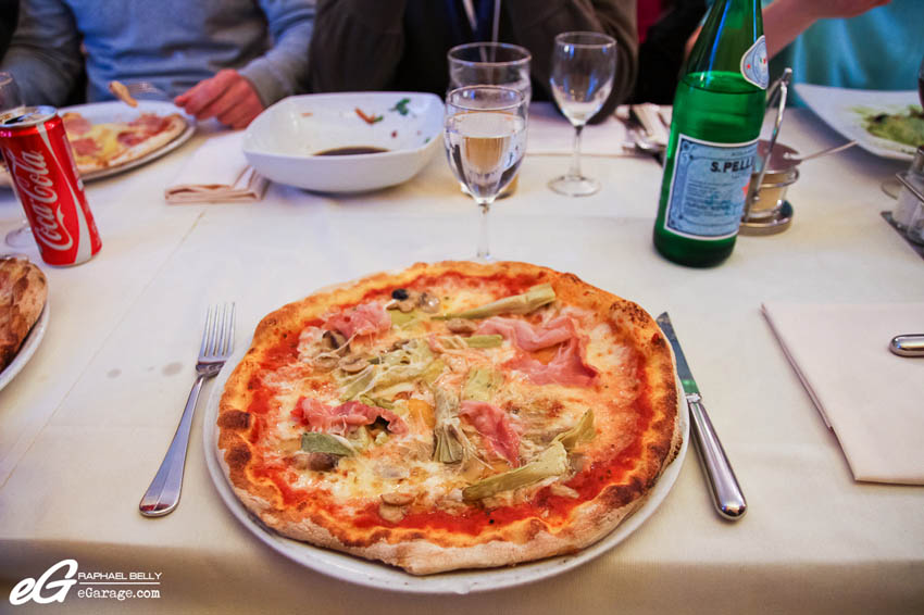 2013 Villa d'Este Tom and Jerry Pizza