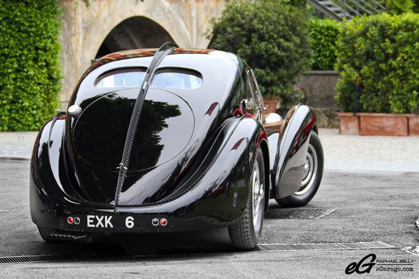 2013 Villa d'Este Bugatti Type 57SC Atlantique
