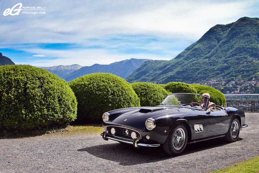2013 Villa d'Este Ferrari 250 GT California Spyder SWB