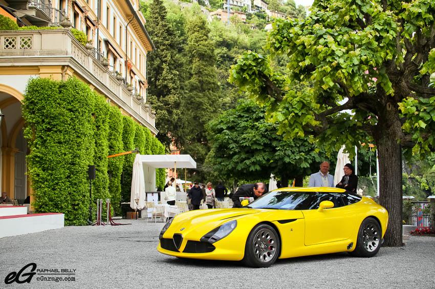 2013 Villa d'Este Alfa Romeo TZ3 Zagato Stradale