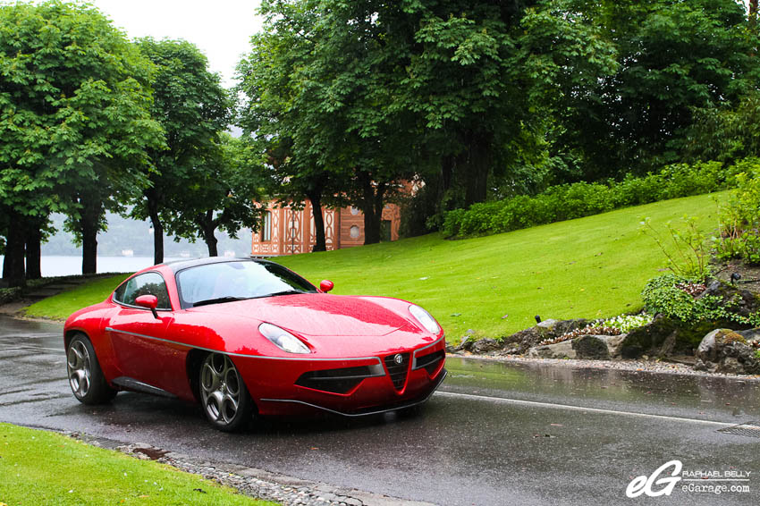 2013 Villa d'Este Alfa Romeo Disco Volante by Touring Superleggera