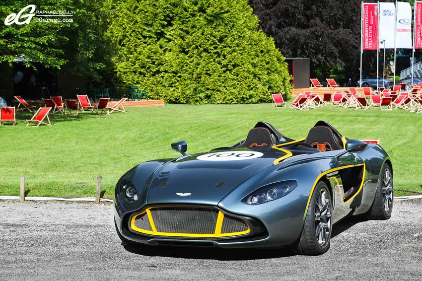 2013 Villa d'Este Aston Martin CC100