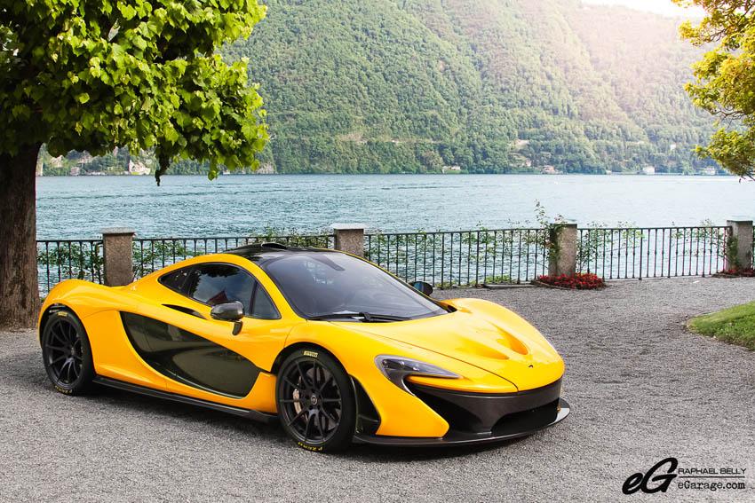 2013 Villa d'Este McLaren P1
