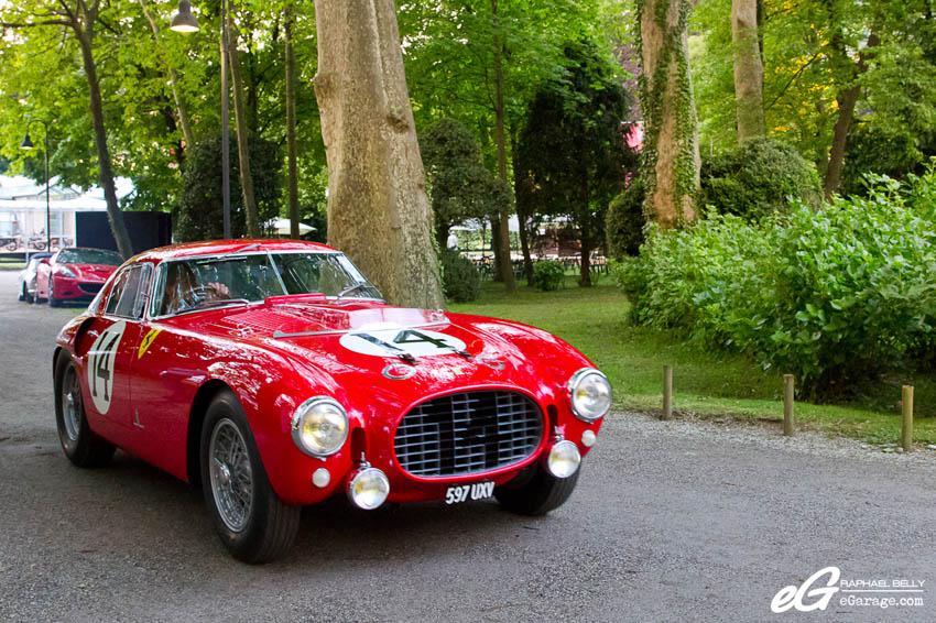2013 Villa d'Este RM Auctions 1953 Ferrari 340/375 MM PininFarina Berlinetta Competizione