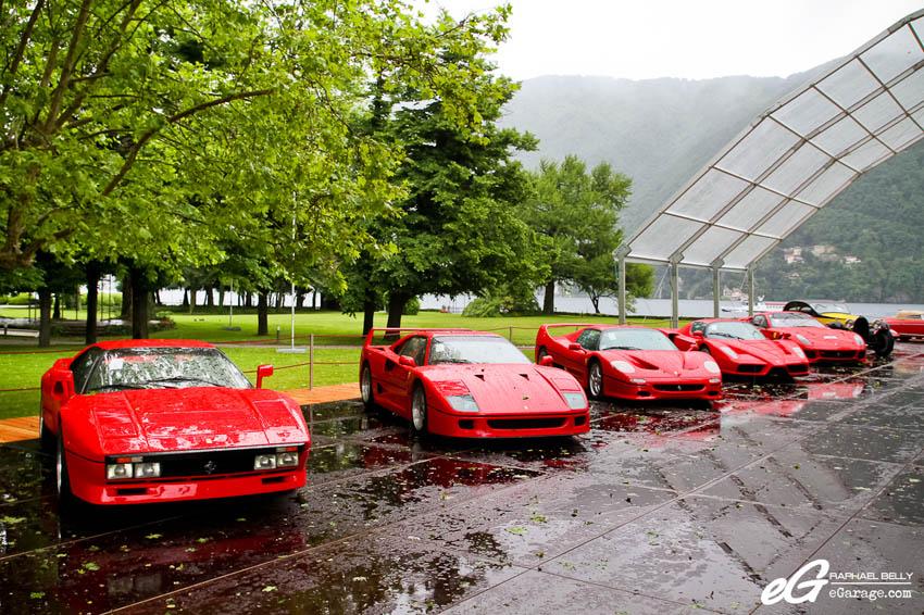 2013 Villa d'Este RM Auctions Ferrari Lineup
