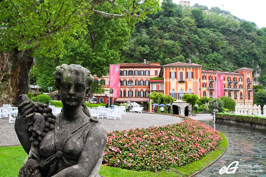 2013 Villa d'Este Cernobbio plaza