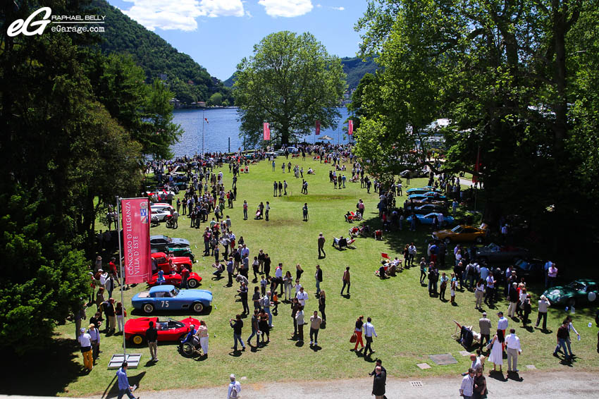 2013 Villa d'Este Field of Cars