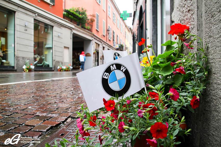 2013 Cernobbio BMW flag Cernobbio