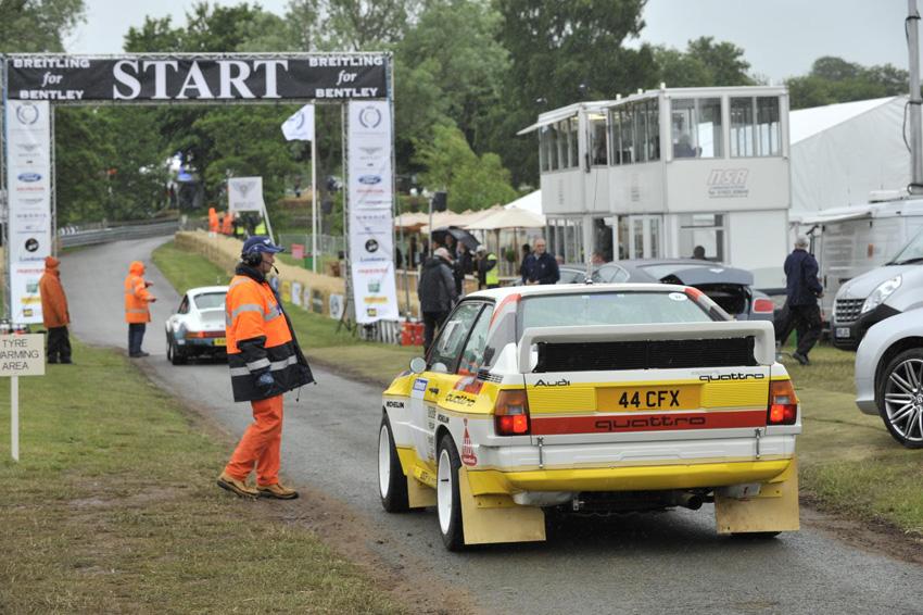 Audi Quattro Cholmondeley Pageant of Power