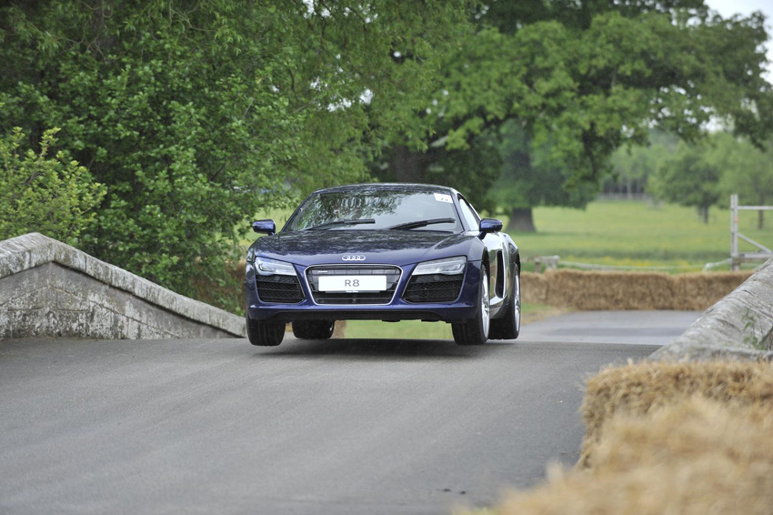 Audi R8 Cholmondeley Pageant of Power