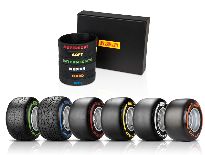eGarage Pirelli Wristband Fathers Day Gift
