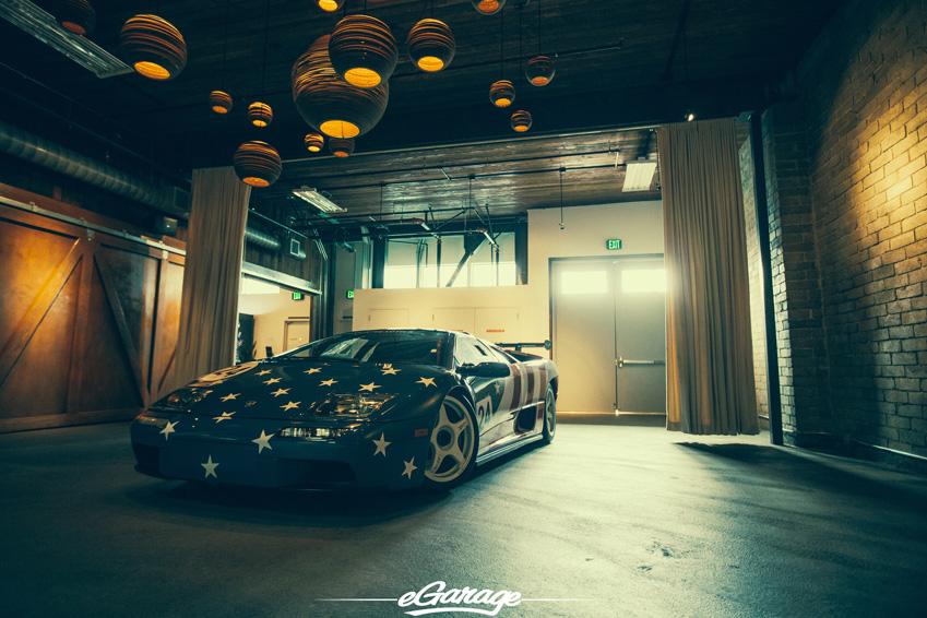 The Story Of The American Flag Lamborghini Diablo Svr